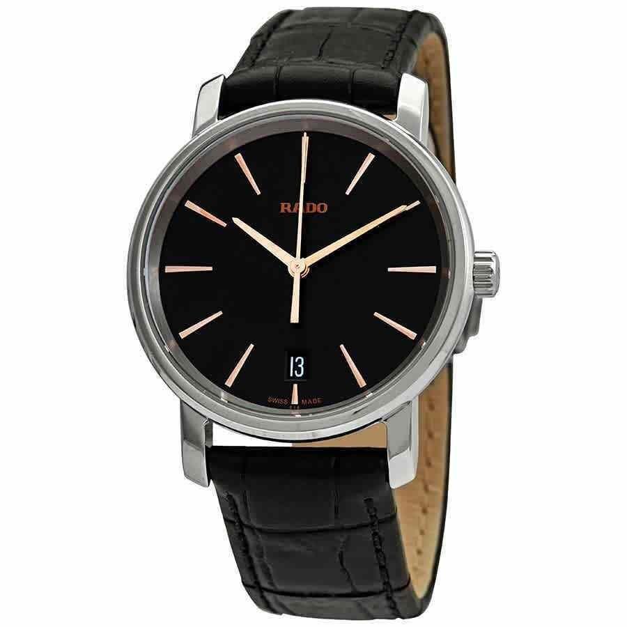 最高級のスーパー ラド― 腕時計 Rado DiaMaster Black Dial Ladies Watch R14089165, 蒲郡市 a4b87830