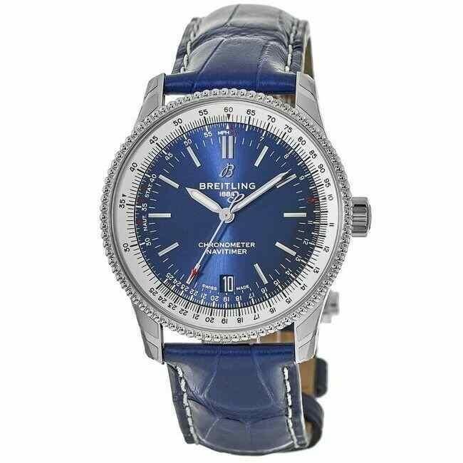 超高品質で人気の ブライトリング 腕時計 1 New Breitling New Navitimer ナビタイマー Navitimer 1 Automatic 38 Blue Dial メンズ Watch A17325211C1P3, ペット犬猫療法食動物病院:de265698 --- airmodconsu.dominiotemporario.com