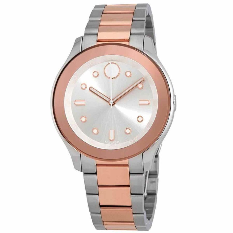 【中古】 モバード 腕時計 Movado レディース Watch Bold クォーツ Silver Tone Dial Bracelet 3600430, モデルベースZ c647673a