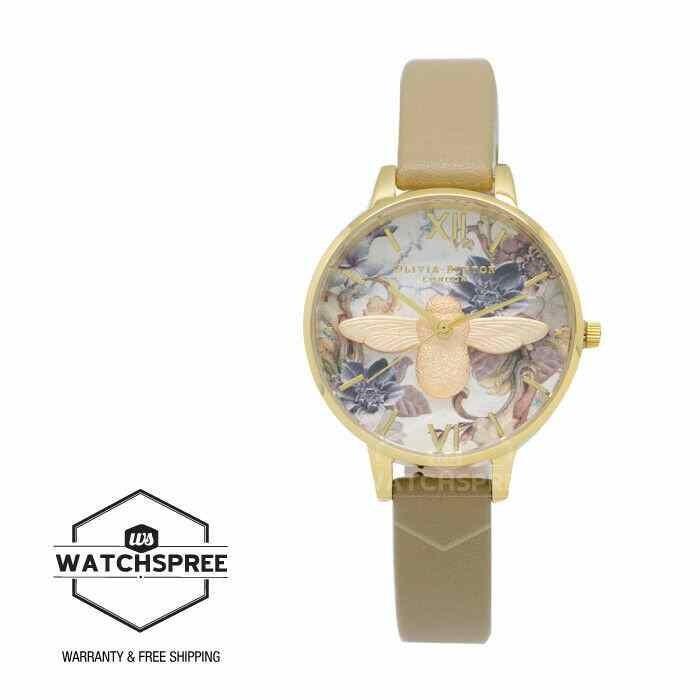 [宅送] オリビアバートン 腕時計 Olivia Burton Ladies' Marble Florals Demi 3D Bee Watch OB16CS22, サカモトムラ f82797a9