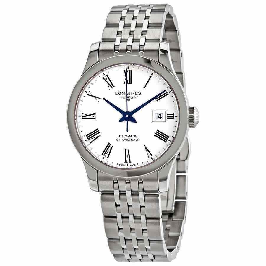 人気沸騰ブラドン ロンジン 腕時計 Longines Record Automatic Ladies Watch L2.321.4.11.6, 大治町 9c997f23
