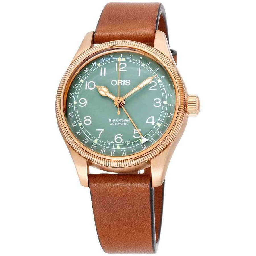 限定版 オリス ビッグクラウン 腕時計 Oris Big Crown ビッグクラウン Oris Bronze Pointer Date Big Ladies Watch 01 754 7749 3167-07 5 17 69GBR, マルカ名波商店:34d633e3 --- airmodconsu.dominiotemporario.com