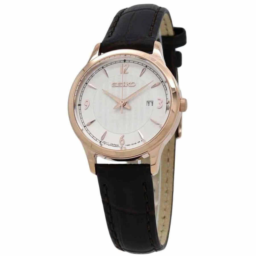 【NEW限定品】 セイコー 腕時計 Seiko クォーツ Silver Dial Ladies Watch SXDG98, 理想の生活館 5cb4fa9c