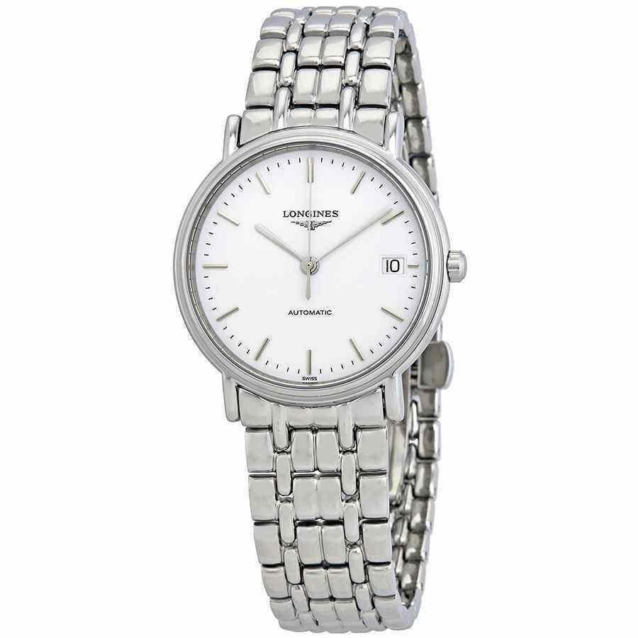 有名なブランド ロンジン 腕時計 腕時計 Longines Presence Automatic White ホワイト Dial Dial Ladies ホワイト Watch L4.821.4.12.6, 松尾村:fdd4931b --- airmodconsu.dominiotemporario.com