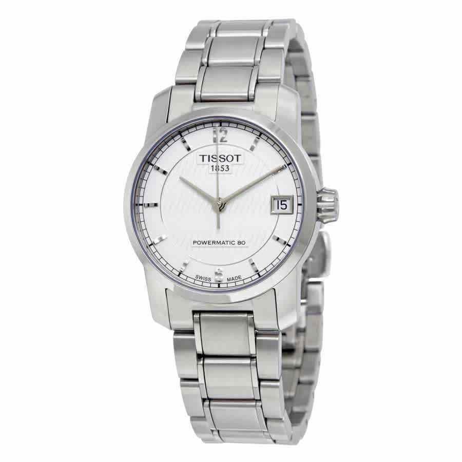 欲しいの ティソ 腕時計 Tissot T-Classic ティークラシック Titanium Automatic Silver Dial Ladies Watch T0872074403700, 介護用品専門店 まごころショップ fe5e187d