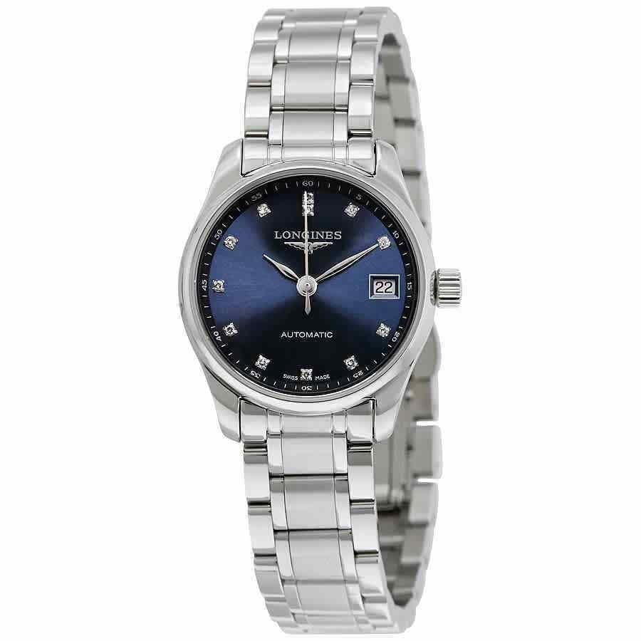 激安正規品 ロンジン 腕時計 Collection Longines Masters L2.128.4.97.6 Collection ロンジン Automatic Ladies Watch L2.128.4.97.6, TKP暮らしの必需品Shop:682f2ef7 --- airmodconsu.dominiotemporario.com