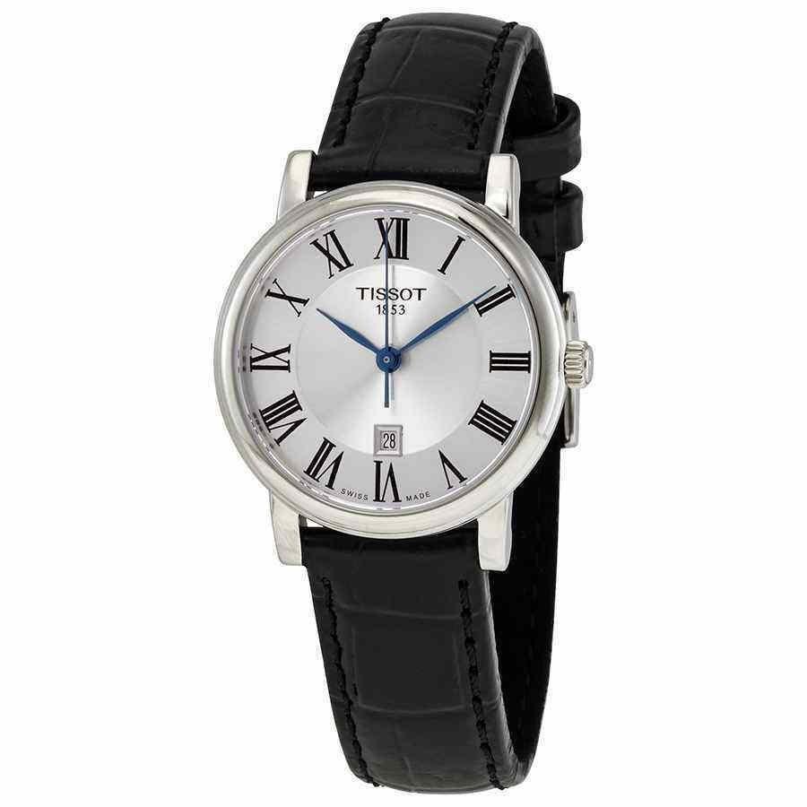 フジオカシ ティソ 腕時計 Tissot 腕時計 Carson Premium Lady Ladies クォーツ ティソ Silver Dial Ladies Watch T122.210.16.033.00, DVD-outlet:651a613c --- airmodconsu.dominiotemporario.com