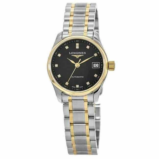 【格安SALEスタート】 ロンジン 腕時計 New Longines Master Collection Automatic 25.5mm レディース Watch L2.128.5.57.7, イジュウインチョウ fe514cd9