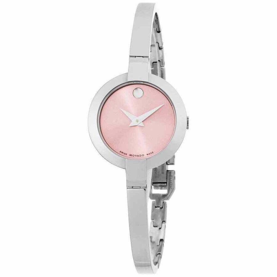 大割引 モバード 腕時計 Movado Bela クォーツ Movement Pink Bela Dial Movado Ladies Pink Watch 0606596, ダテグン:6d8c02c8 --- airmodconsu.dominiotemporario.com