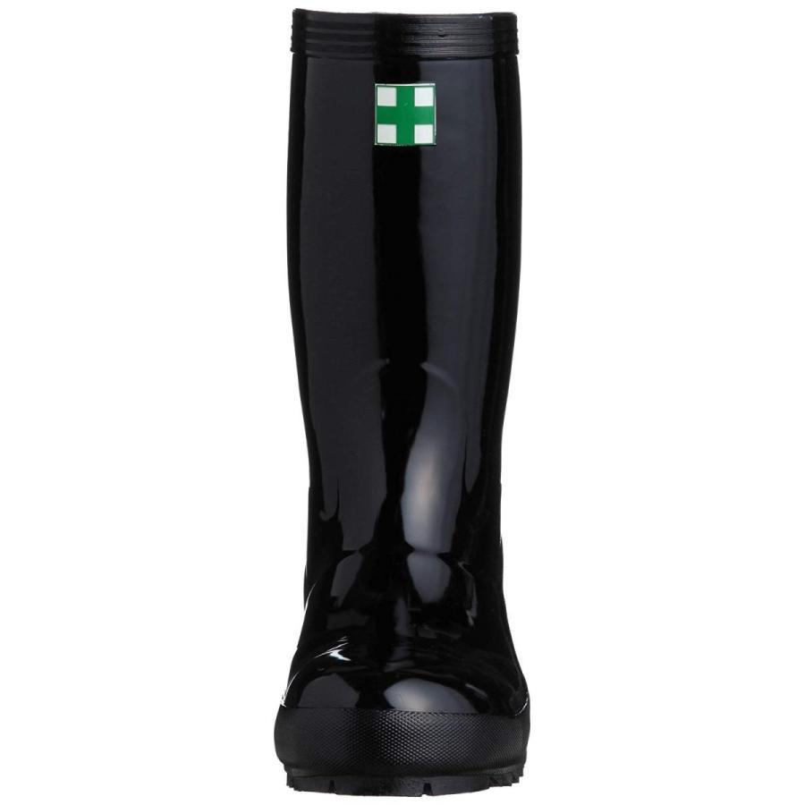 ミドリ安全安全長靴 JIS規格 921T ブラック25.5