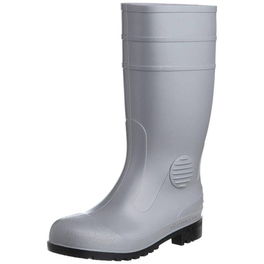ミドリ安全安全長靴 先芯入り ワークエース W1000 グレー25.0(25cm)