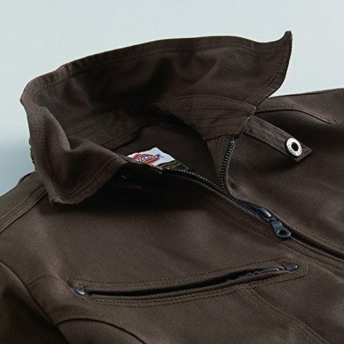 (ディッキーズ) Dickies 作業服 長袖ブルゾン ワイルドライン (D-1080) ブラック L