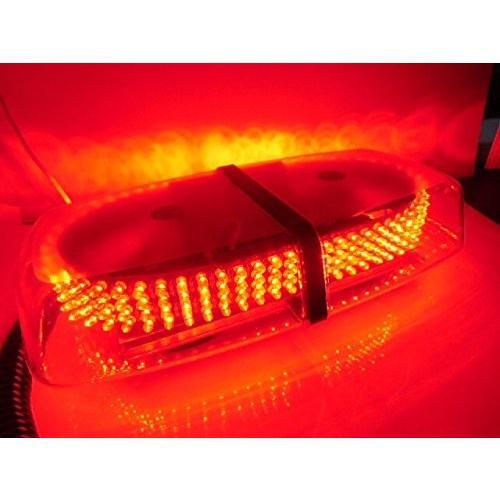 12v 24v兼用/7種の点滅パターン切替可能240連LED 回転灯/赤色 レッド/パトランプ 非常灯 警告灯 作業灯 赤色灯/船舶 トラッ