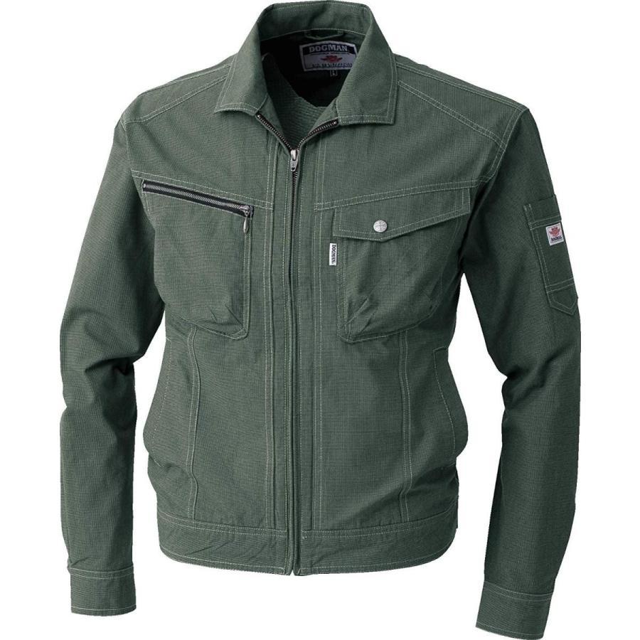 CUC DOGMAN 長袖ブルゾン 黒×グリーン LLサイズ 8417