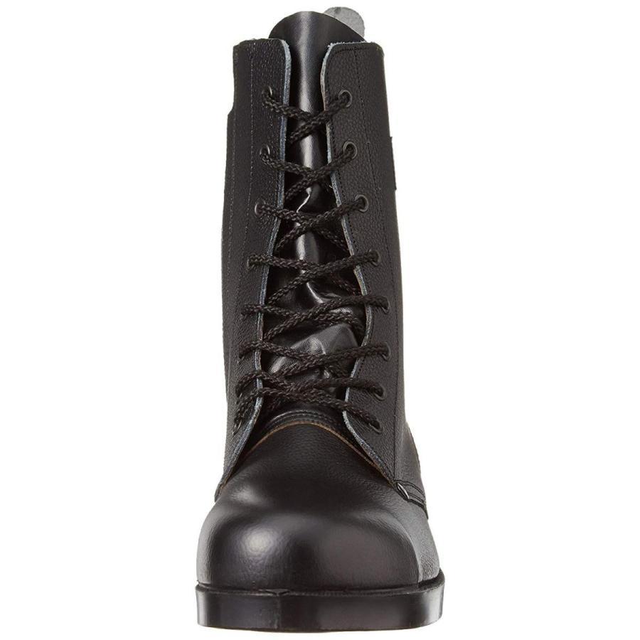シモン 舗装靴 長編上靴 メンズ 黒 28 cm 3E