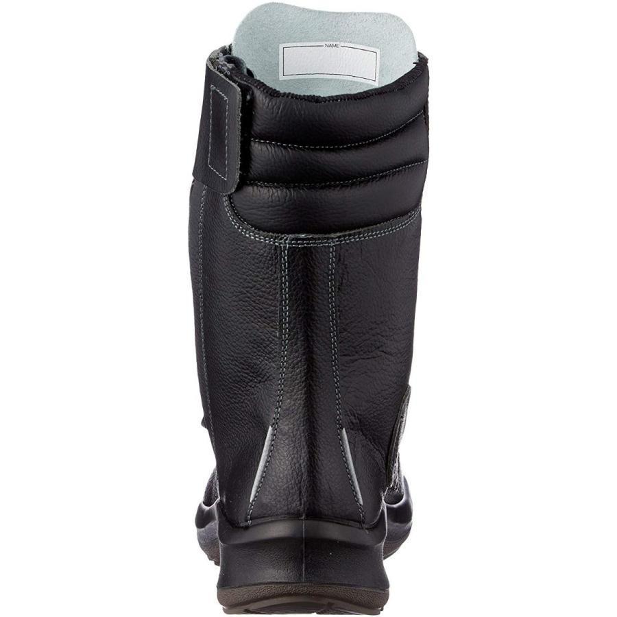 ミドリ安全 安全靴 JIS規格 甲プロテクタ付き 長編上靴 プレミアムコンフォート PRM230F オールハトメ 甲プロMII メンズ ブラ