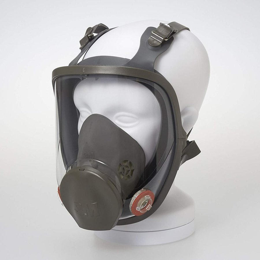 3M 防毒マスク 面体 6000F Lサイズ 6000F L