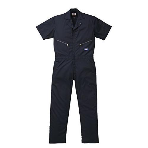 ディッキーズ Dickies (山田辰)夏用半袖 ツヅキ服 1312 ネイビーブルー ネイビーブルー ネイビーブルー LLサイズ ed8