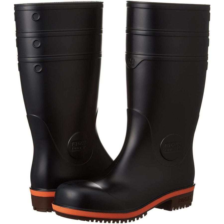 ミドリ安全 男女兼用 安全長靴 PHG1000スーパー ブラック 大 30.0cm