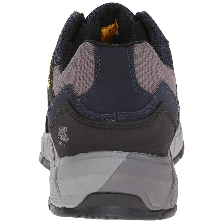 Caterpillar メンズ 基盤 スチール トゥ 作業靴 US サイズ: 9.5 C/D US カラー: ブルー