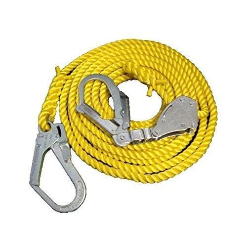 エステル製親綱ロープ 16mm 緊張器付 (15M)
