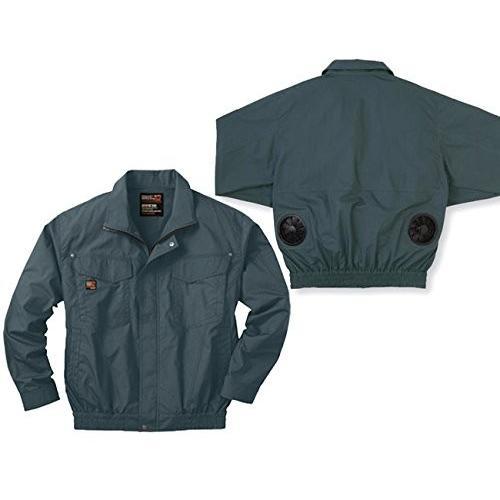 空調服ブルゾンセット (空調服+ファン+リチウムバッテリー) ss-ku91400-l XL キャメル