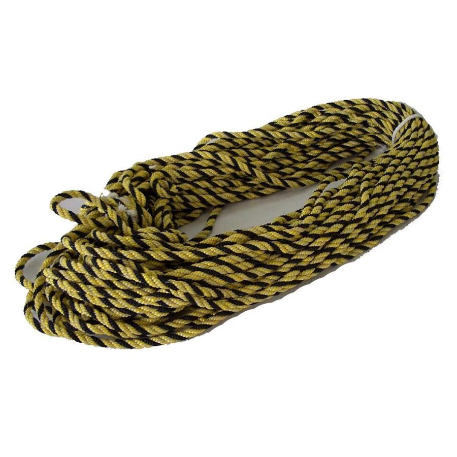 反射 反射標識ロープ 太さ10mm 10m巻き 10m巻き 10m巻き イエロー・ブラック acd