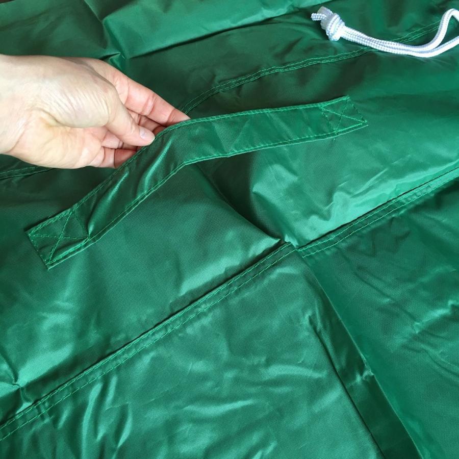 オリタニ 受入ワゴン・カート各種ランドリーワゴン用 集配 回収 ドライ袋 50枚組 グリーン 02090550