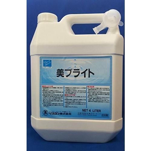 リスロン 多目的美化剤 美ブライト 4L