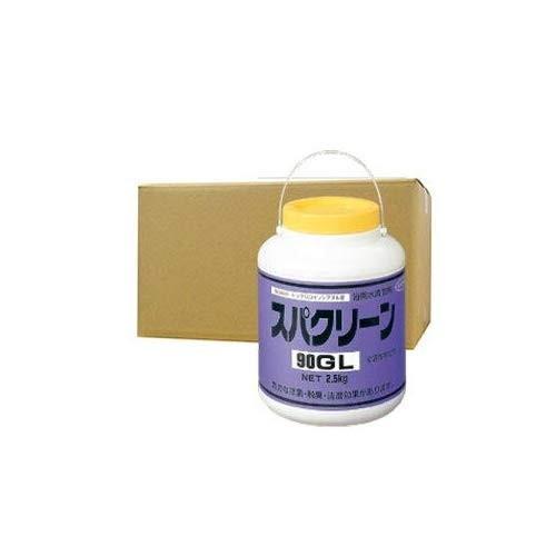 スパクリーン90GL 風呂水専用塩素剤 2.5kg×4缶