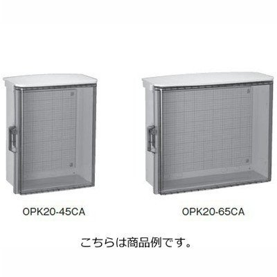 日東工業 日東工業 日東工業 OPK20-65CA OPK形屋外用キー付 透明扉タイプ プラボックス 耐候性 AAS樹脂 IP44 fe6