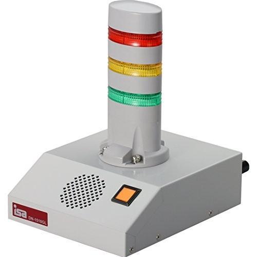 DN-1510GL-N3LCW 警子ちゃん4G+(プラス) (3層LED灯・色付レンズ・ライトグレー・有線LAN)