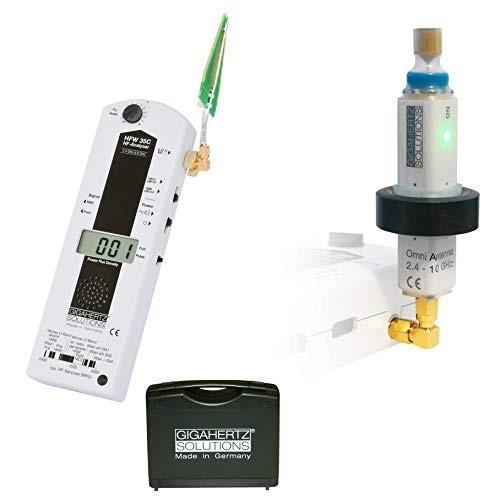 HFW35C 高周波電磁波測定器 全方向性アンテナ UBB2410 セット 測定対象周波数帯2.4GHz - 6 GHz