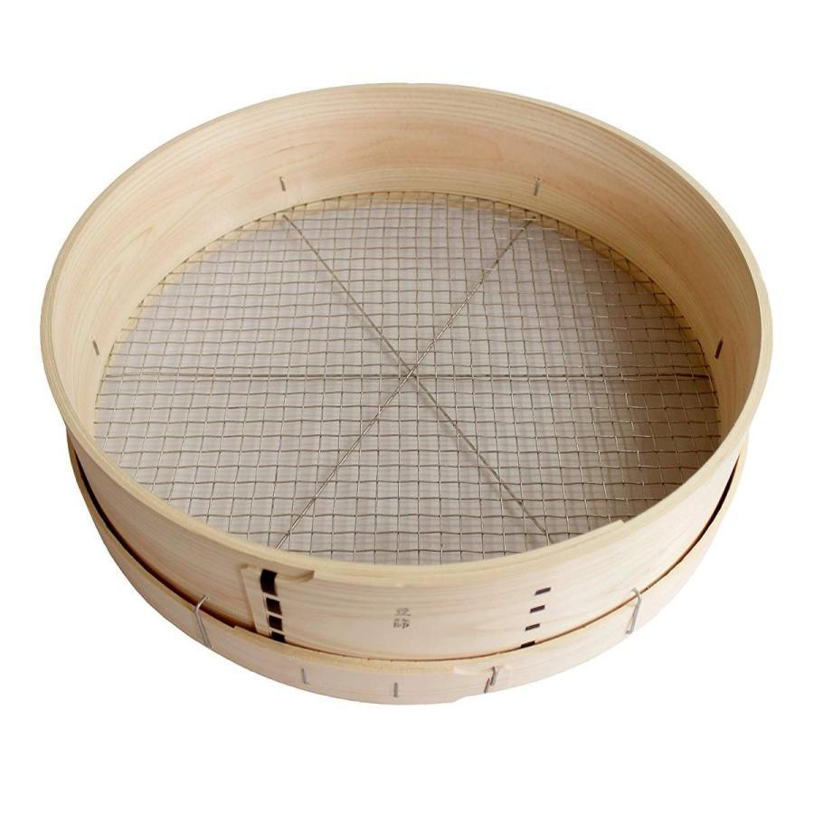 KJ 木製フルイ尺5(45cm) 豆 (丸型)