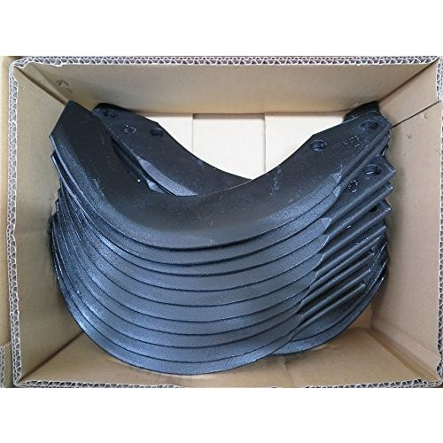 NIPLO/ニプロ ロータリー用 耕うん爪 フランジタイプ 汎用G爪 外側溶着 36本セット 51-154AG 東亜重工製 CBX1710,