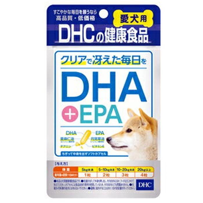 DHC 犬用 愛犬用 ペット サプリメント クリアで冴えた毎日を ふりかけ 補助食品 DHA 返品交換不可 60粒 EPA 格安 価格でご提供いたします