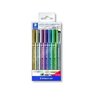 ステッドラー メタリックマーカーペン6色セット 取り寄せ商品 ご予約品 開店記念セール