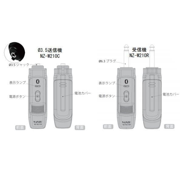 【レンタル2泊3日】コードレスヘッドマイク(RENT-210CTH)|nanzu|05