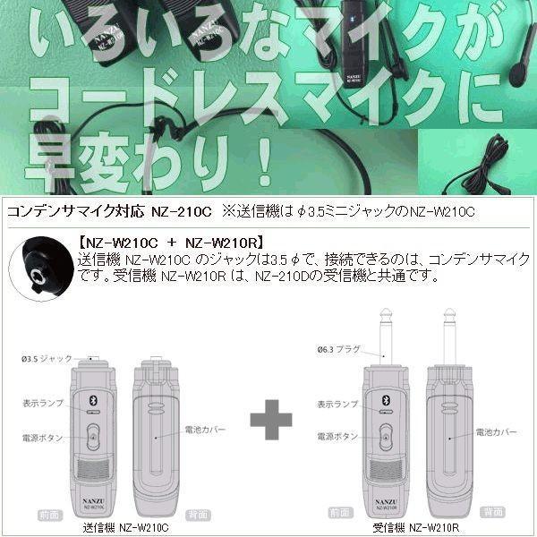 【レンタル0泊1日】コードレスピンマイク(RENT-210CTW)|nanzu|04