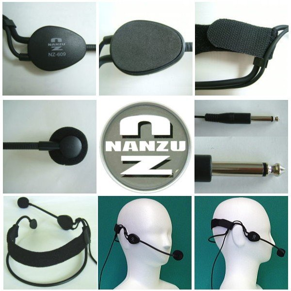 【レンタル3泊4日】ハンズフリーマイク600Ω(RENT-609) nanzu 02