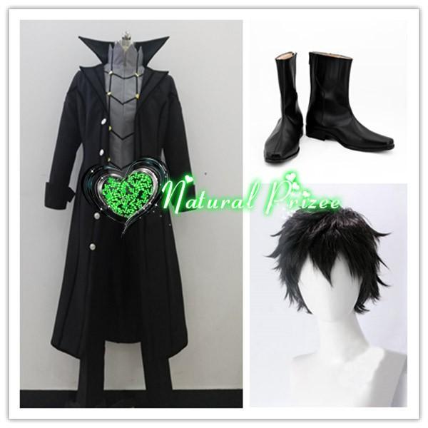 コスプレ衣装+ウィッグ+靴 怪盗の衣装 ペルソナ5(PERSONA5) 主人公/ジョーカー 変装/華麗/高品質