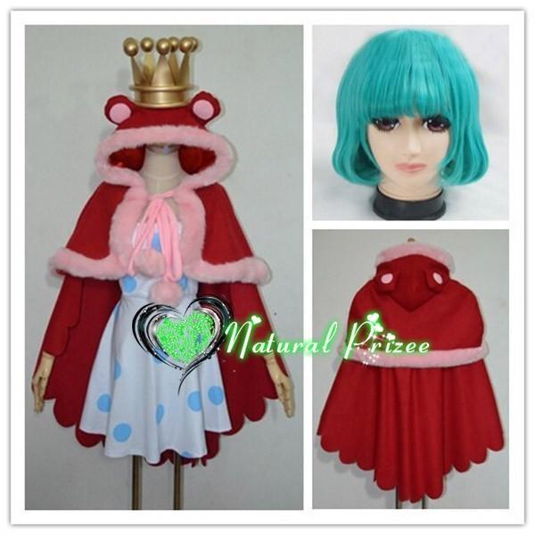 コスプレ衣装+ウイッグ+王冠+メガネ ワンピース シュガー 変装/仮装/華麗/高品質