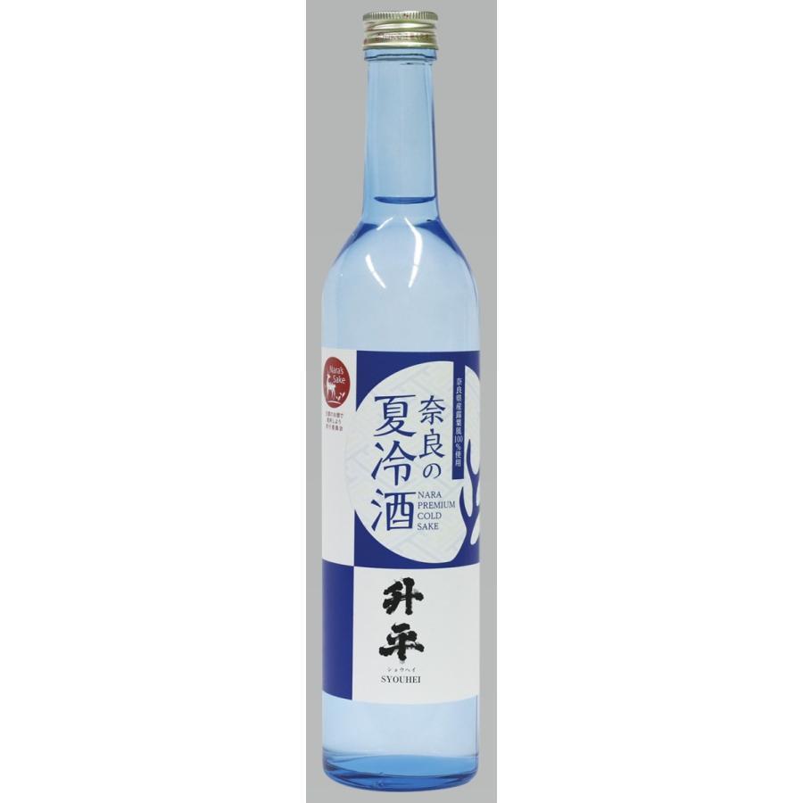 奈良の夏冷酒(升平しょうへい)純米吟醸酒/露葉風100%/八木酒造/清酒 ...
