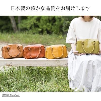 2way ミニボストンバッグ  鞄 レザー 本革 牛革 ヌメ革 レディース 革遊びHARUHINO|naranokoto|02