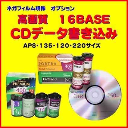 オプション ネガフィルムからのCDデータ書き込み lt;brgt;1本から受付 春の新作シューズ満載 高画質16BASE書き込みに変更 商い