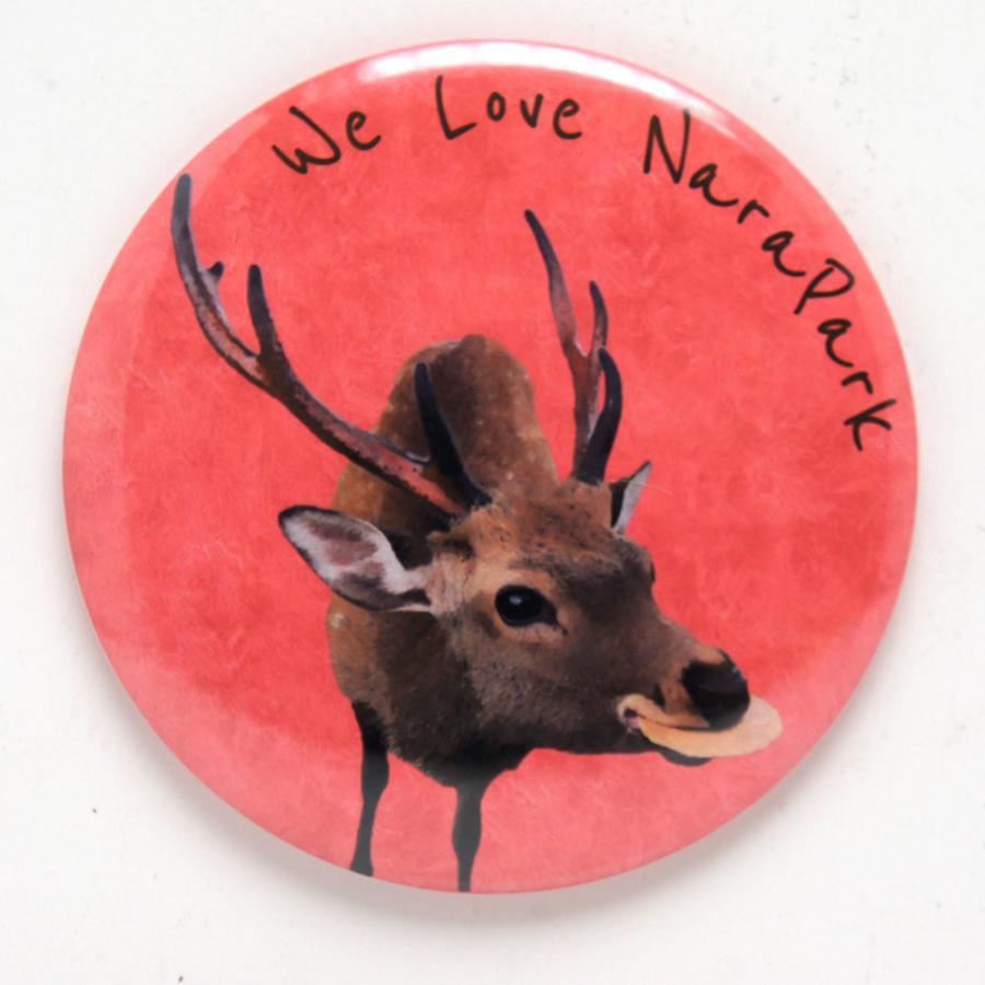 奈良の鹿ちゃんを応援するキャンペーン 鹿の缶ミラー 優先配送 今季も再入荷