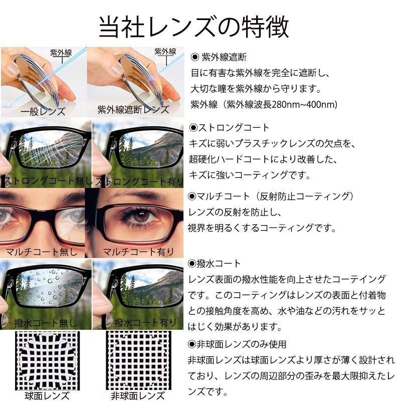 家メガネ 丸メガネ 度付き 度なし 近視 乱視 H5379|nare-megane|02