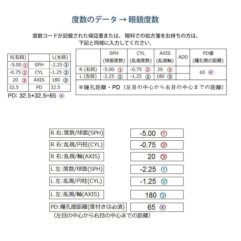 家メガネ 丸メガネ 度付き 度なし 近視 乱視 65シリーズ nare-megane 04