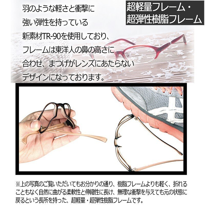 度付きメガネ 調光 福袋 nare-megane 03