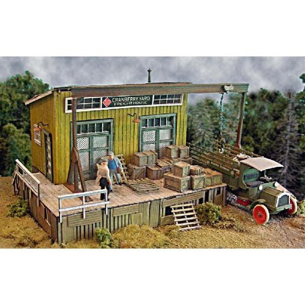 バーミルズ HOスケール レーザーカット ストラクチャー組み立てキット 「The Cranberry Yard Freight House」